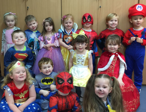 Stanah children dress up for world book day