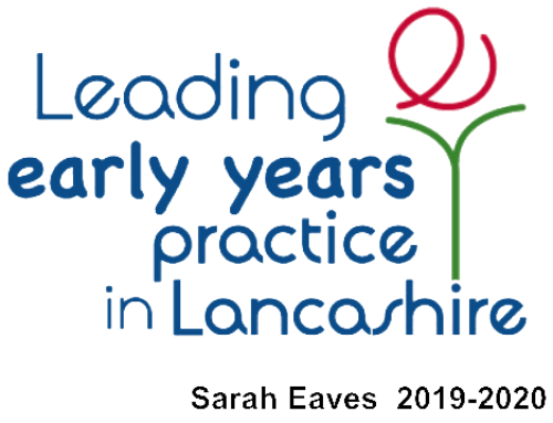 """Sarah Eaves – appointed a """"Lead Practitioner for Early Years Practice in Lancashire"""""""